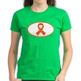 Orange Awareness Ribbon Tee