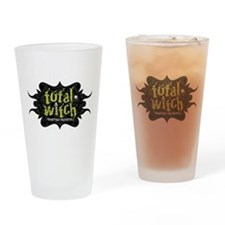 total witch Drinking Glass