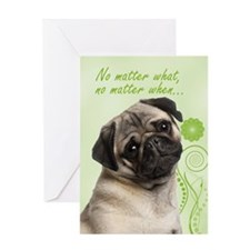 Pug Love/Support/Get Well Card
