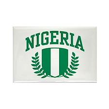Nigeria Rectangle Magnet