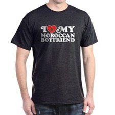 I Love My Moroccan Boyfriend T-Shirt