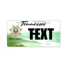 Tennessee Deputy Sheriff Custom License Plate