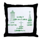 Going Ghost Adventures Tee.png Throw Pillow