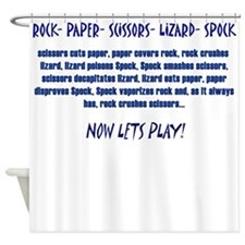 Big Bang Lets Play! Shower Curtain