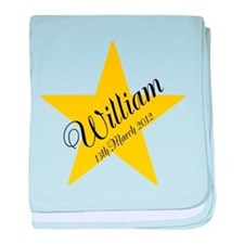 Personalised Baby Blanket Star