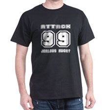 Level 99 Attack, Jealous? Black T-Shirt