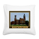 Greensburg Indiana Square Canvas Pillow