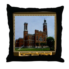 Greensburg Indiana Throw Pillow