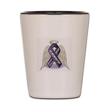 Domestic Violence Angel Shot Glass