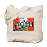 Madison Wisconsin Greetings Tote Bag