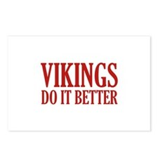 Vikings Do It Better Postcards (Package of 8)