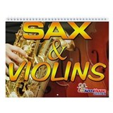 Sax and Violins Calendar