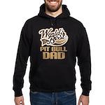 Pit Bull Dad Hoodie (dark)