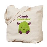 Candy Monster Tote Bag