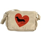 Dachshund Messenger Bag