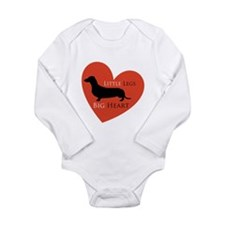 Dachshund Long Sleeve Infant Bodysuit