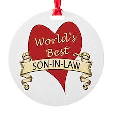 Cute Son in law Ornament