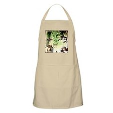 Tiki Palms Twinkling Apron - Tan