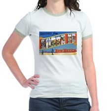 Santa Fe New Mexico Greetings (Front) T