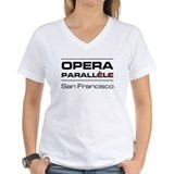 Opera Parallele Logo Stacked Shirt