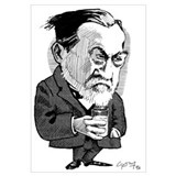 Louis Pasteur, caricature