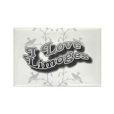 I Love Limoges Rectangle Magnet (10 pack)