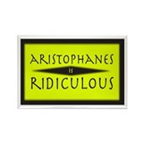 Aristophanes - Rectangle Magnet (10 pack)