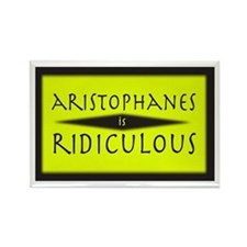 Aristophanes - Rectangle Magnet