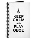 Keep Calm Oboe Journal