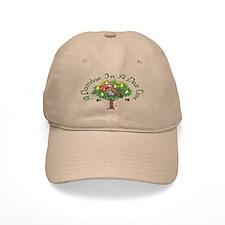 A Partridge in a Pear Tree Baseball Baseball Cap