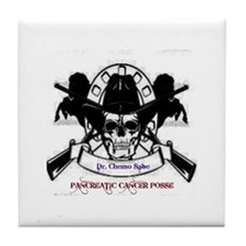 Pancreatic Cancer Posse Tile Coaster