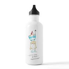 Ice Cream for Dinner Water Bottle