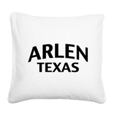 Arlen Texas Square Canvas Pillow