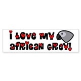 Anime Grey Bumper Car Sticker