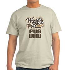 Pug Dad Dog Gift T-Shirt
