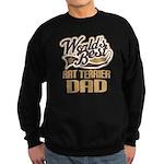 Rat Terrier Dad Sweatshirt (dark)