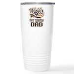Rat Terrier Dad Ceramic Travel Mug