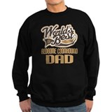 Redbone Coonhound Dad Sweatshirt