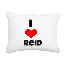 I heart Reid Rectangular Canvas Pillow