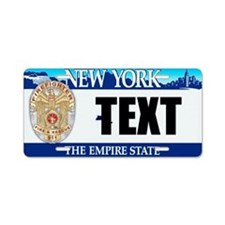 New York Firefighter Custom License Plate