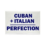 Cuban + Italian Rectangle Magnet (10 pack)