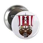 "Vikings and Longship 2.25"" Button (10 pack)"