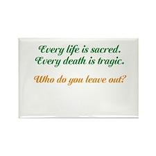 Sacred Life Rectangle Magnet (10 pack)