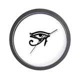 Eye of Horus Wall Clock
