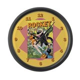 Rocket Comics #42 Large Wall Clock
