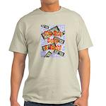 I'm Hot Sexy & Rich Ash Grey T-Shirt