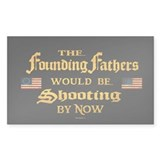 Founding Fathers Shooting  Aufkleber