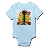 Unique Family tree Infant Bodysuit