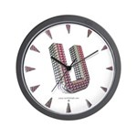 Glamor Brooch U Wall Clock