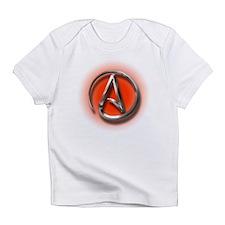 Atheist Logo (red) Infant T-Shirt